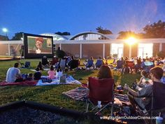 Movies are a language that every generation speaks. From granddad to junior, the silver screen makes a wonderful focal point of a fundraising event. Hosting a movie outdoors, at nighttime, on a huge screen steps things up a notch: it transforms a movie...