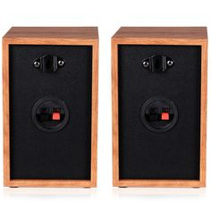 Wall Mount Professional Passive Bookshelf Speakers W 4 Woofer