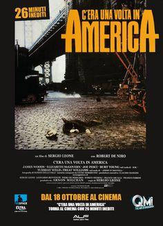 C'era una volta in America, torna al cinema dal 18 al 21 ottobre in versione restaurata con 26 minuti inediti.