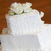 Shop White Cake fragrance oil from Lone Star Candle Supply. This blend with have your mouth watering for a slice of freshly baked white cake. Square Wedding Cakes, Diy Wedding Cake, Square Cakes, Wedding Cake Designs, Wedding Cupcakes, Wedding Cake Toppers, Wedding Ideas, Wedding Planning, Gingerbread House Frosting