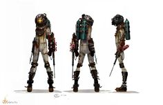 real interstellar space suit designs | This idea of futuresteam, or steampunk in space, comes down to more ...