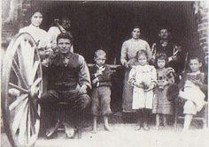 Famiglia Benedetti, Carradori in Ponte Buggianese - 1910-15.