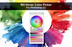 Ad: RH Hover Color Picker by Rico Holmes on October Updated for --- Have you ever been painting in Photoshop and wished there was a clean, modern color interface that Photoshop Plugins, Photoshop Brushes, Photoshop Actions, Programming Tools, Color Picker, Modern Colors, Funny Valentine, Paint Markers, Photoshop Elements