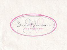 Premade photography logo design handwriting your by AquariusLogos, $19.99