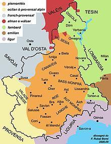 Lingue e dialetti nella regione Piemonte