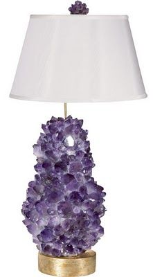 Left Coast Luxe: Rock Crystal Lamps