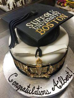 Suffolk Graduation Cake