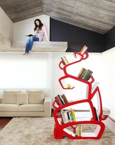 50 Unique And Unconventional Bookcase Designs