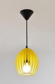 Yellow tulip light
