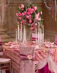 Shades of Pink / Wedding, Reception, Pink - Photo by Mosaic - East Coast - Project Wedding Deco Rose, Pink Table, Wedding Chairs, Wedding Reception, Wedding Tables, Reception Table, Wedding Set, Party Wedding, Spring Wedding