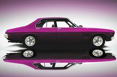GTS Monaro. Deep purple.