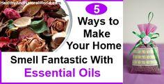 5 Best Natural Room Scent Methods Using Essential Oils