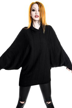 Stockholm Syndrome Slacker Knit Tunic [B] | KILLSTAR