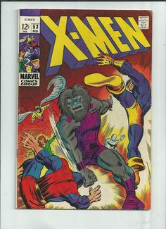 UNCANNY X-MEN #53 Great Silver Age find from Marvel Comics! http://r.ebay.com/GuhBDU