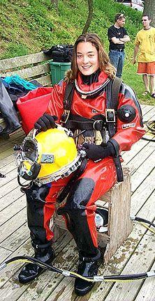 Women's Diving, Diving Helmet, Scuba Diving Gear, Scuba Wetsuit, Diving Wetsuits, Technical Diving, Scuba Diving Equipment, Scuba Girl, Viking Woman