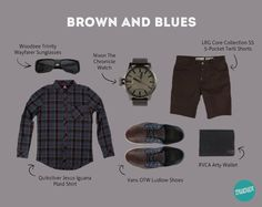 Brown and Blues