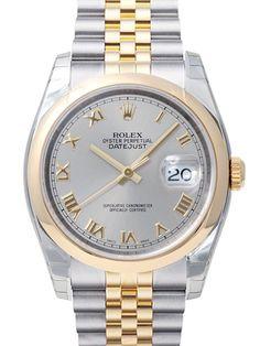 Rolex Datejust 36 Edelstahl Gelbgold 116203 Stahl R Jub