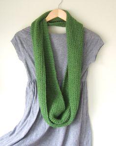 Green Infinity #Scarf by #DottieQ, $42.00