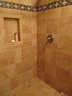 niche vs. decorative tile placement
