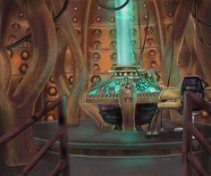 Tardis Interior by KiearaPhoenix.deviantart.com  #Tardis #Interior #DoctorWho