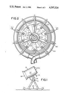 Patent US4597524 - Snow making machine - Google Patents