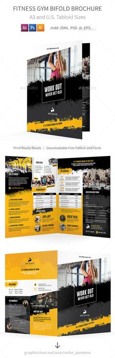Brochure Template Indd  Brochure Design Templates