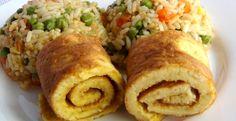 rizoto s omeletou