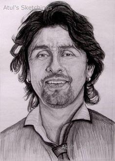 Pencil Drawings, Art Drawings, Sonu Nigam, Cartoon Wallpaper, Art Inspo, Poems, Sketches, Saree, Fan Art