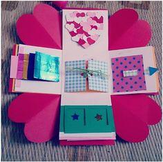 Exploding Gift BoxDiy BirthdayBirthday PresentsBirthday