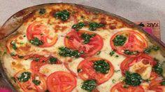 Lasagna de pan y vegetales al puro queso