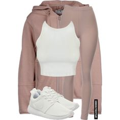 A fashion look from January 2016 featuring cropped tops, adidas and brown pants. Browse and shop related looks.