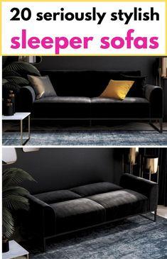 Black velvet futon