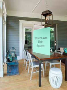 Decorate This Space: Pick the Right Centerpiece (http://blog.hgtv.com/design/2013/07/10/decorate-this-space-pick-the-right-centerpiece-2/?soc=pinterest)