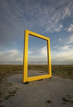 Outdoor freestanding sign for National Geographic, Terschelling, Netherlands