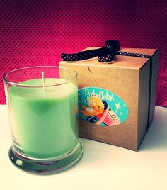 Cannabis Flower 12 oz. Soy Candle by PudgeBabyCandles on Etsy, $20.00
