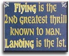 Flying   Greatest Thrill   Sign   Wood   Aviation   Funny   A Simpler Time