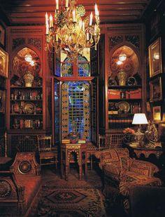 Yves Saint Laurent's Marrakech house.