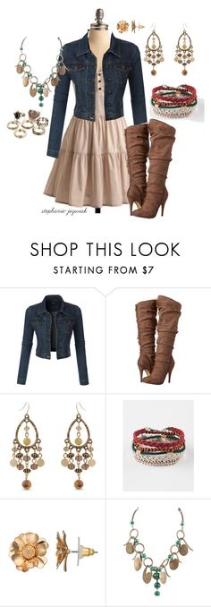 """""""Analia's Outfit for Audrianna's Baby Shower"""" by stephanie-jozwiak ❤ liked on Polyvore featuring LE3NO, Michael Antonio, Erica Lyons, Full Tilt and LC Lauren Conrad"""