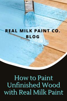 Painting unfinished wood with Real Milk Paint is perfect for first-timers and experts alike. Check out our blog post to find out exactly how. Pure Tung Oil, Paint Stirrers, Real Milk Paint, Wood Finishing, Primitive Furniture, Raw Wood, Unfinished Wood, Wood Pieces, Hemp Oil