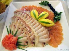 Украшение блюд из рыбы !!!