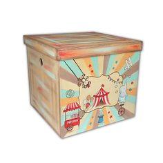 Χειροποίητος ξύλινος φυσικός κύβος ζωγραφισμένος στο χέρι με θέμα το Τσίρκο με ζωάκια σε αποχρώσεις βεραμάν, πορτοκαλί και κόκκινο. Αυτό το πολύχρωμο με retro διάθεση κουτί, βγαλμένο από άλλη εποχή, θα δώσει μια χαρούμενη και vintage πινελιά στη διακόσμηση της βάπτισης σας και αργότερα στη διακόσμηση του δωματίου ως κουτί αποθήκευσης. Διαστάσεις:40x40x36cm Decorative Boxes, Home Decor, Decoration Home, Room Decor, Home Interior Design, Decorative Storage Boxes, Home Decoration, Interior Design