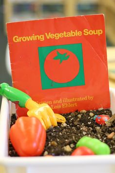 Growing Vegetable Soup (interactive literature)