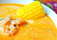 A Peruvian Favorite: Chupe de Camarones (Shrimp Soup) Peruvian Dishes, Peruvian Cuisine, Peruvian Recipes, Seafood Soup Recipes, Fish Recipes, Yummy Recipes, South American Dishes, American Food, Shrimp Soup