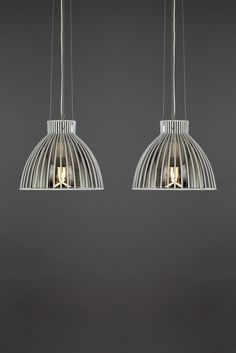 Plumen is in BHS, one of the UK's biggest home-ware retailer! Plumen light bulb in BHS Eugenie Wire Glass Pendant. Available to buy now at www.bhs.co.uk/