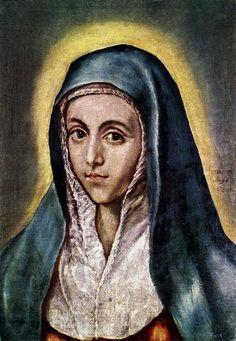 Virgin Mary - El Greco