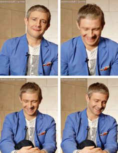 Martin is too cute. // That little round head.... <3