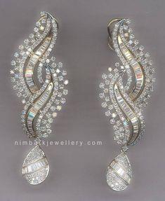 White Gold Round-Cut Diamond Stud Earrings J-K Color, Clarity) – Finest Jewelry Ear Jewelry, India Jewelry, Jewelry Necklaces, Fine Jewelry, Men's Jewellery, Diamond Earrings Indian, Diamond Jewelry, Bridal Earrings, Bridal Jewelry