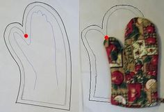 How to Create an Oven Mitt Pattern