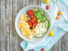 Heute präsentiere ich euch wieder mal etwas herzhaftes für den Frühstückstisch… Feta, Cobb Salad, Harvest