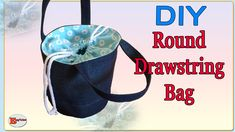 Old Jeans Recycle, Drawstring Bag Tutorials, Diy Bags Tutorial, Fabric Scraps, Diy Hairstyles, Drawstring Backpack, Recycling, Pouch, Sewing Ideas